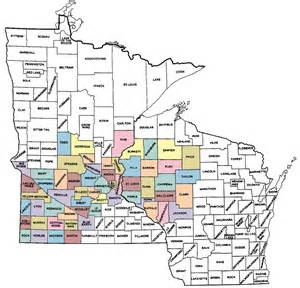 Minnesota Wisconsin Map by Pics Photos Mn Wi Map