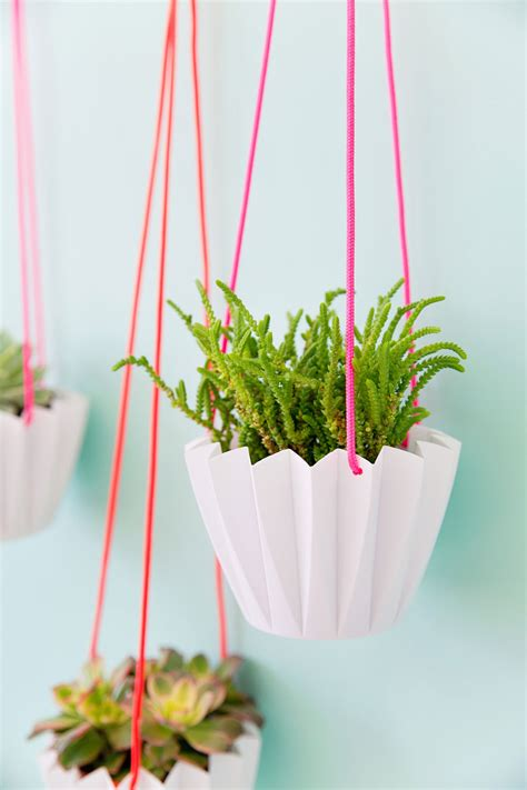 hanging planters diy 5 minute diy hanging planters tell love and party