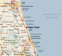 Palm Coast Florida Map palm coast weather related to real estate listings of