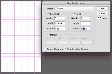 guide layout photoshop cc new guide layout and new guide from shape in photoshop cc