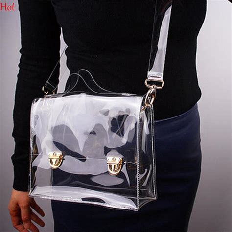 Transparan Sling Bag pvc transparent bags clear crossbody bag