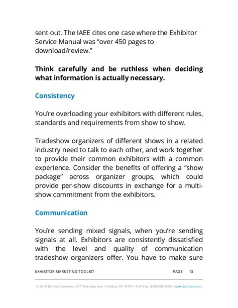 No Show Email Template 2014 Exhibitor Marketing Toolkit Includes Guidelines Email Template