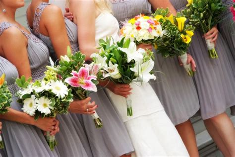 Bridesmaid Bouquet by 7 Tips For Choosing Mismatched Bridesmaid Bouquets