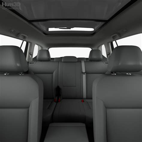 volkswagen atlas r line interior volkswagen atlas r line with hq interior 2017 3d model hum3d