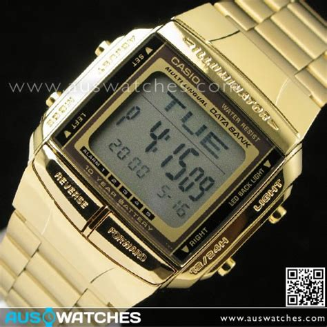 Casio Db 360g 9a buy casio gold plated data bank db 360g 9a db360g 9a