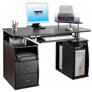 Home Office Workstation Desk Wood Computer Desk Modern Student Workstation Executive Home Office Laptop Black Ebay