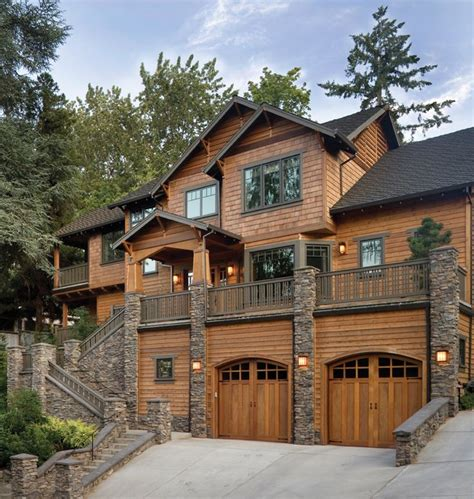 this cedar home is exquisite the combo of cedar and