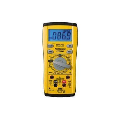 capacitance meter lowes fieldpiece lt17aw digital multimeter w wireless transmitter lowes home depot
