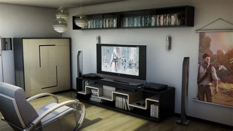 45 video game room ideas to maximize your gaming experience interior video game entertainment center ideas 45 video