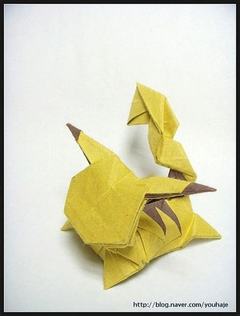 How To Make A Paper Pikachu - 1000 ideas about pikachu on pikachu