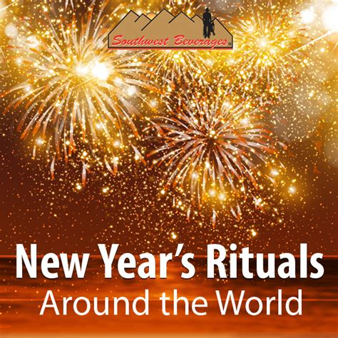 new year s rituals around the world