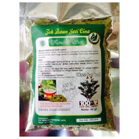 Teh Herbal teh daun jati cina konsultasi herbal