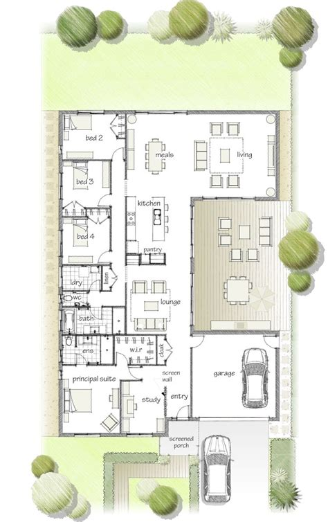 u build it floor plans 17 best ideas about u shaped houses on u