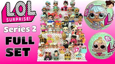 Lol L O L Doll Series 2 Wave 2 Court Ch Terbaru l o l doll set of series 2 wave 1 ultra