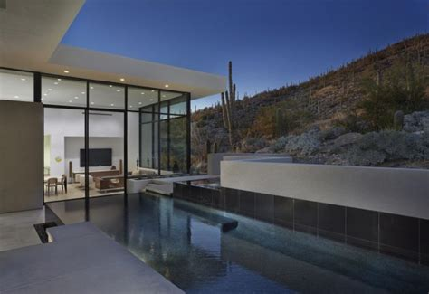House In Sabino Springs By Kevin B Howard Architects In Architectural Design Tucson