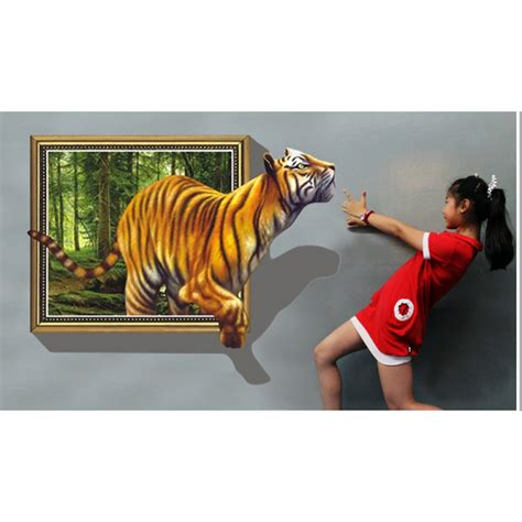 Wall Sticker 3d by 3d Wall Decal Stickers Wackydot