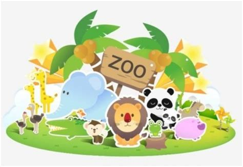 zoo lovely vector   Free download