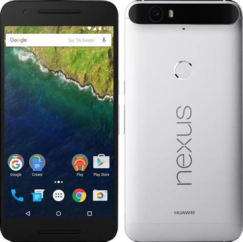 android silver huawei nexus 6p 32gb android smartphone unlocked silver mint condition used cell phones