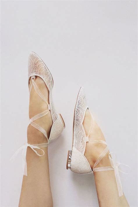 Flat Wedding Shoes by 25 Best Ideas About Flat Bridal Shoes On