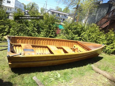 Handcrafted Wooden Boats - unique wooden canoe canot roby 18 handmade white