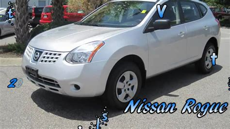silver nissan rogue 2009 rogue 2009 nissan rogue sl silver gets great gas mileage