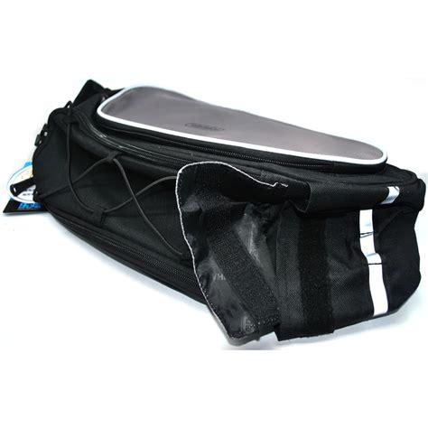 Tas Sepeda Selempang roswheel tas selempang sepeda back seat bag black gray
