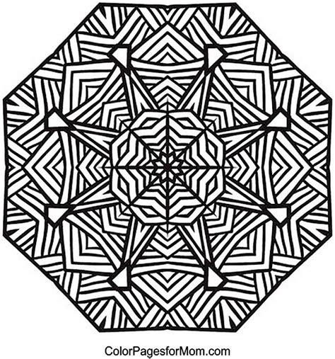 advanced mandala coloring pages pin advanced geometric mandala coloring on