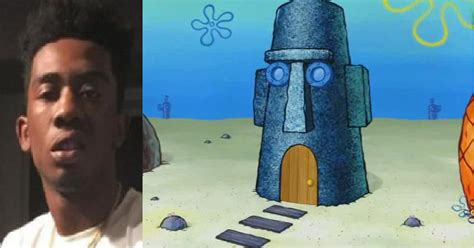 squidwards house desiigner looks like squidward s house sports hip hop piff the coli