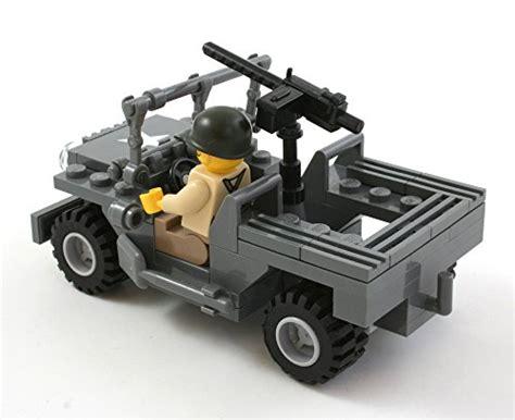 brickmania jeep brickmania ww2 jeep with us infantry minifig custom