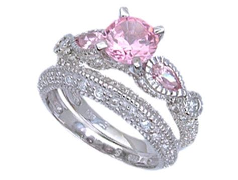 pink camo wedding rings for men   Wedding Inspiration