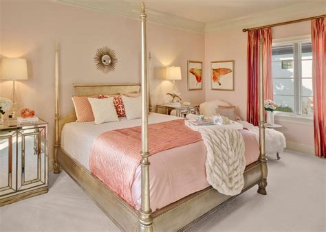 cosy pink master bedroom decorating home ideas with