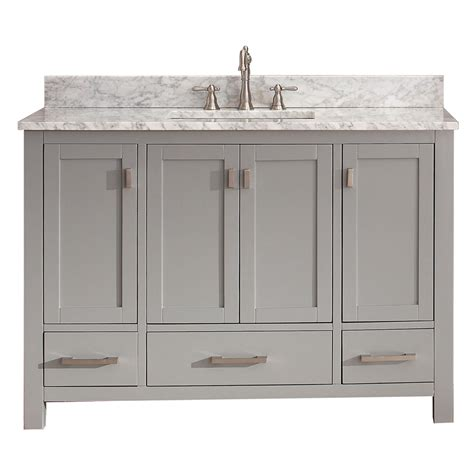 Vanity Products by Avanity Modero 48 Quot Single Bathroom Vanity Chilled Gray