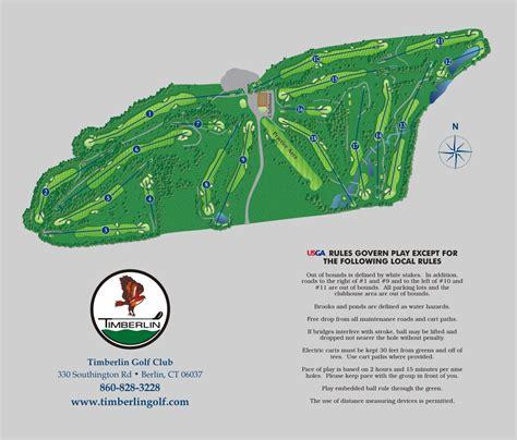 book layout course yardage book timberlin golf club