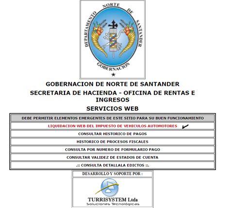 impuesto de vehiculos en norte de santander impuesto de vehiculo norte de santander impuestos por