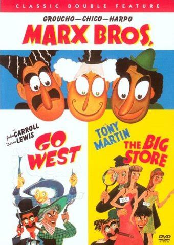 Dvd Sulap Wink By The Other Brothers the marx brothers go west the big store dvd starring the marx brothers warner home