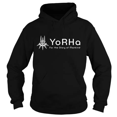 nier automata yorha for the of mankind shirt hoodie tank top