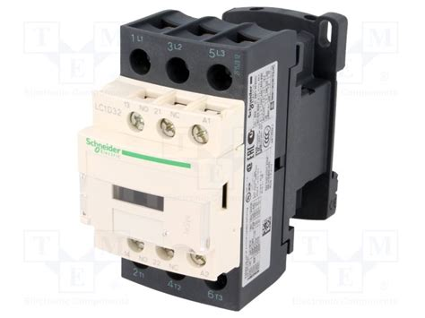 lc1d32b7 schneider electric contactor 3 pole tme