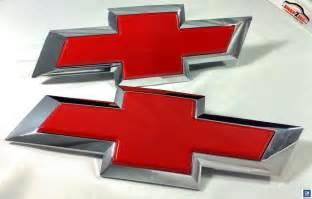 chevy silverado bowtie emblem billet insert replacement