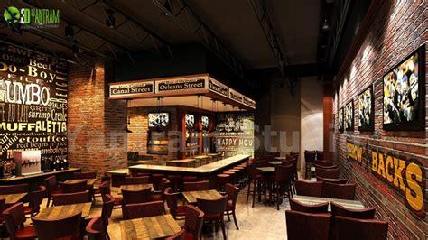 bar restaurant  interior design architizer