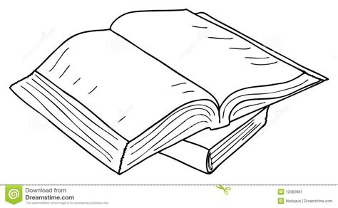 sketchbook vector opened book sketch vector stock vector illustration of
