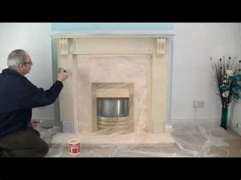 fireplace coating create a fireplace