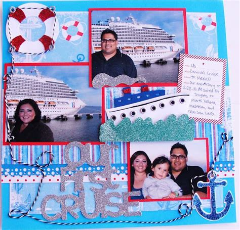 scrapbook layout ideas cruise 53 best cruise scrapbooking layouts images on pinterest