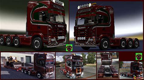 Scania Aufkleber Rund by Scania Page 4 Ets2 Skins Trucksimulator24 Die