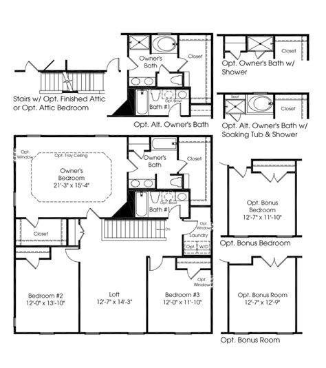 ryan homes ohio floor plans ryan homes floor plans sienna