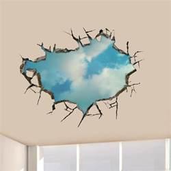 3d ciel stickers muraux paroi du de plafond