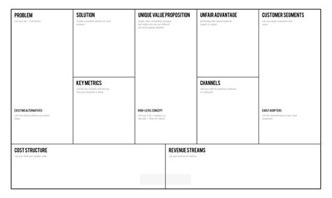 lean canvas word template lean canvas template mobawallpaper