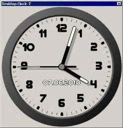 get windows 8 desktop clock in windows 7 desktop apps