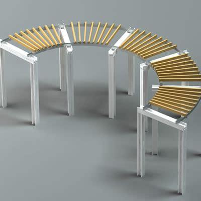 veranda dwg pergola 3d model