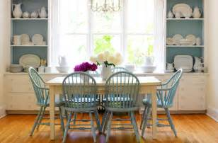 Blue And White Dining Room by Farmhose Dining Table Transitional Dining Room