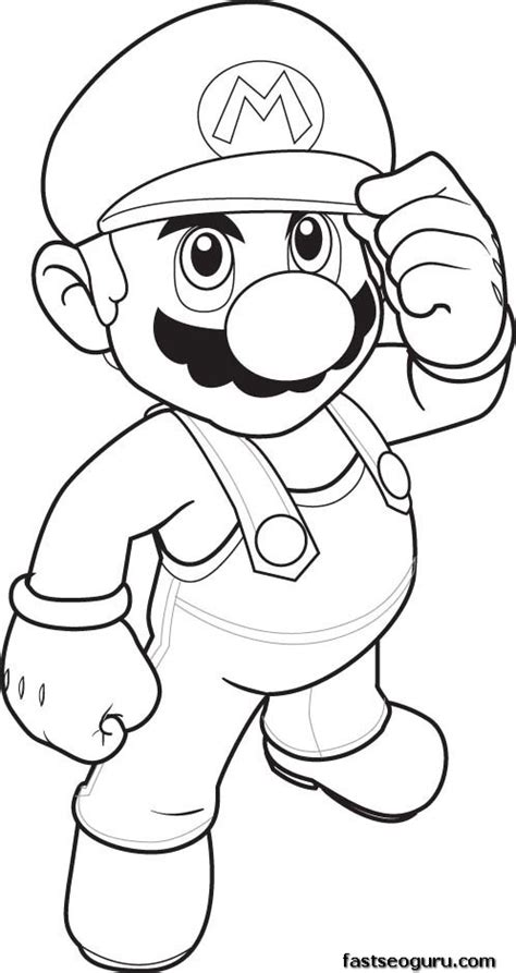 Print Out Coloring Pages Mario Coloring Sheet For Kids Coloring Pages To Print Out